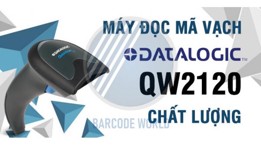 MÁY ĐỌC MÃ VẠCH DATALOGIC QW2120 CHẤT LƯỢNG CHO NGƯỜI DÙNG