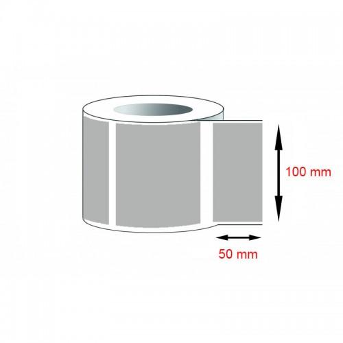 Decal cảm nhiệt - Giấy in tem cảm nhiệt (100x50)mmx1x50m