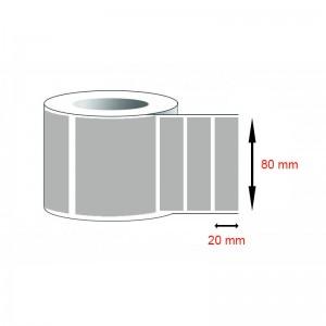 Decal cảm nhiệt - Giấy in tem cảm nhiệt (80x20)mmx1x50m