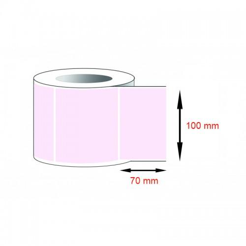 Decal thường, decal giấy (100x70)mmx1x50m nhuộm hồng