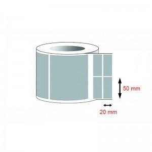 Decal thường - Decal giấy (50x20)mmx2x50m