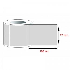 Decal PVC - Giấy in tem nhãn mã vạch PVC (70x100)mmx1x50m