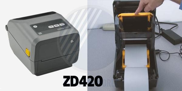 Máy in tem kết nối điện thoại Zebra ZD420