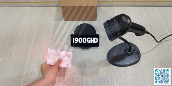 Máy quét mã vạch Honeywell 1900GHD quét được tất cả mã 1D và 2D