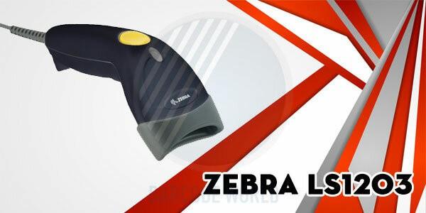 Máy quét mã vạch siêu thị Zebra LS1203