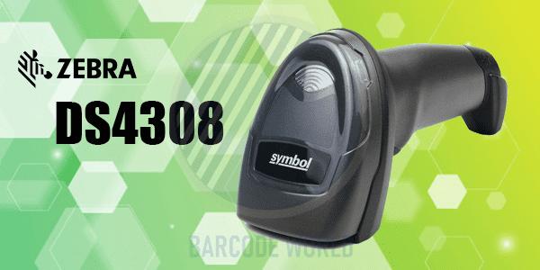 Máy quét mã vạch siêu thị Zebra DS4308
