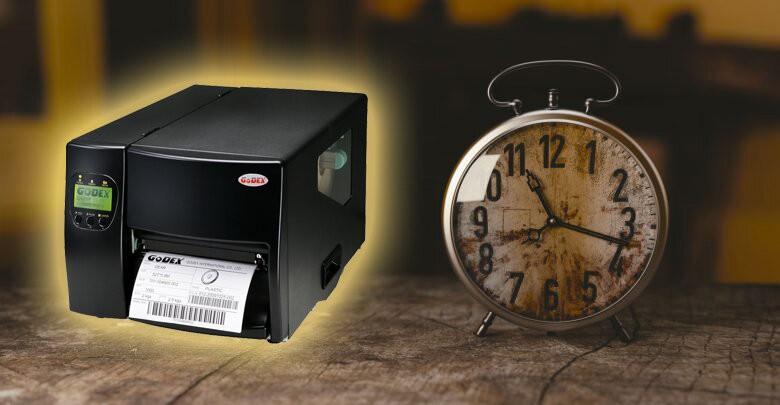 2. Máy in mã vạch Godex bền bỉ với thời gian