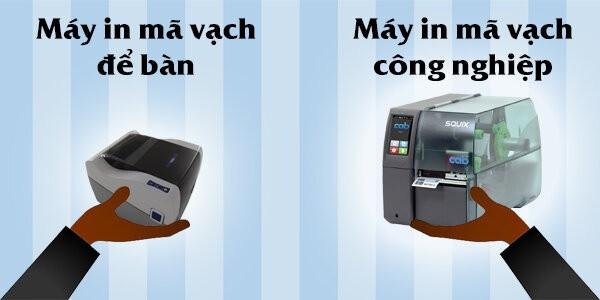 2. Lưu ý chọn mua máy in mã vạch thứ 2: Chọn dòng máy