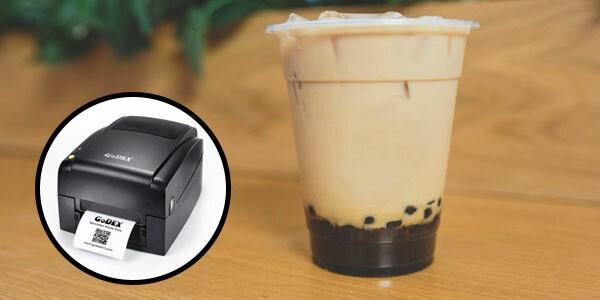 hướng dẫn chọn mua máy in tem nhãn trà sữa giá rẻ phù hợp