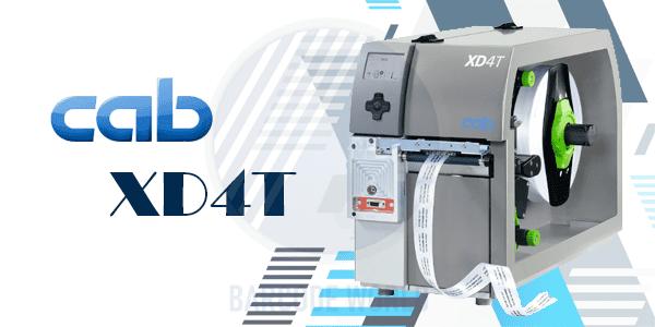Máy in mã vạch Cab XD4T - Thiết bị in hai mặt với chất liệu dệt