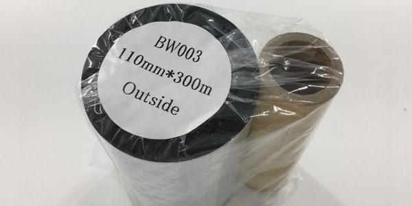 Mực in mã vạch - tem nhãn Wax/Resin (BW003)