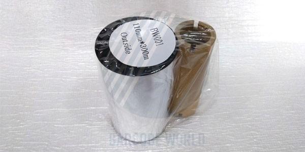 Mực in mã vạch - tem nhãn Wax (BW001)