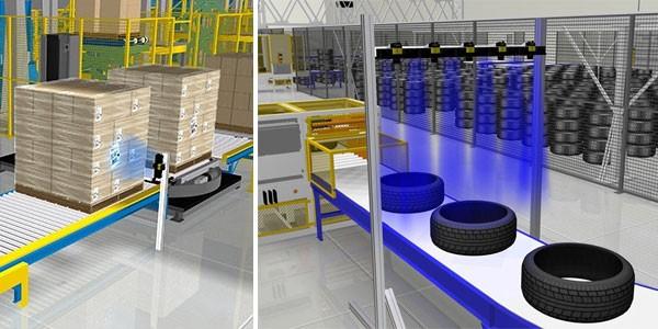 ứng dụng giải pháp mã vạch vào băng chuyền sản xuất trong nhà máy