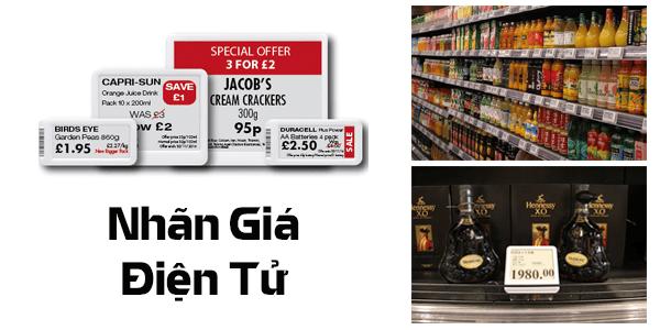 Nhãn giá điện tử - Ứng dụng RFID phổ biến được nhiều nhà bán lẻ tin dùng