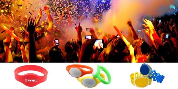 Ứng dụng RFID với dây đeo cổ tay cho sự kiện