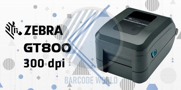 Zebra GT800 - 300 dpi I Máy in tem nhãn chất lượng in sắc nét cho bệnh viện