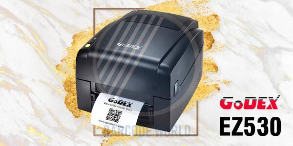 Máy in tem nhãn phụ GoDEX EZ530 chính hãng, chất lượng I Thế Giới Mã Vạch