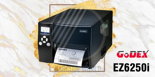 Máy in tem nhãn phụ GoDEX EZ6250i chính hãng, chất lượng I Thế Giới Mã Vạch