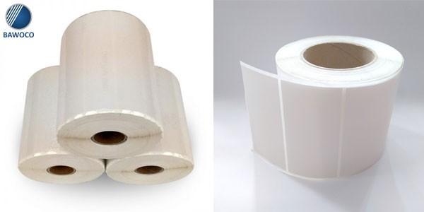 giấy in mã vạch trong kho lạnh, môi trường nhiệt độ thấp
