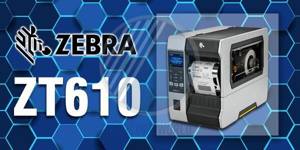 Máy in mã vạch công nghiệp Zebra ZT610 chính hãng, chất lượng I Thế Giới Mã Vạch