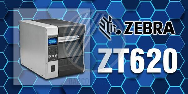 Máy in mã vạch công nghiệp Zebra ZT620 chính hãng, chất lượng I Thế Giới Mã Vạch