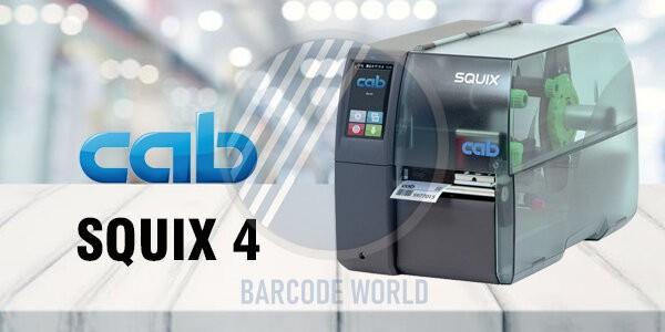 Máy in barcode công nghiệp Cab SQUIX 4 nhập khẩu chính hãng Đức, chất lượng cao