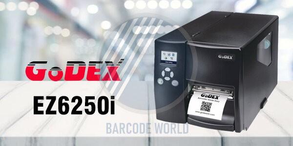 Máy in barcode công nghiệp GoDEX EZ6250i với khả năng vận hành mạnh mẽ, nhập khẩu chính hãng