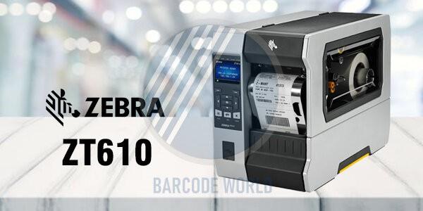 Máy in barcode công nghiệp Zebra ZT610 - dòng sản phẩm mới nhất vừa được Zebra cho ra mắt, đáng tin cậy