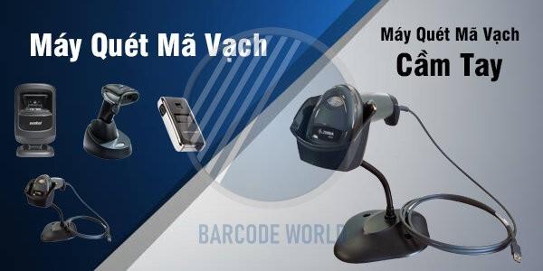 Máy quét mã vạch cầm tay nhập khẩu chính hãng, cam kết chất lượng I Thế Giới Mã Vạch