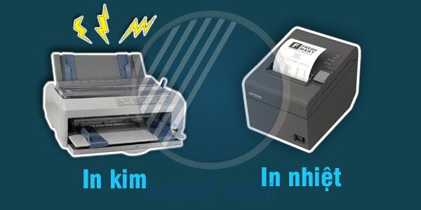 Máy in hóa đơn in nhiệt hoạt động êm ái, không gây tiếng ồn khó chịu