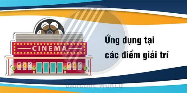 Ứng dụng máy in hóa đơn nhiệt tại các điểm giải trí (như rạp chiếu phim,...)