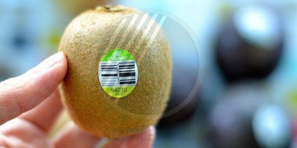 Mã vạch dùng cho hoa quả, thực phẩm nhập khẩu