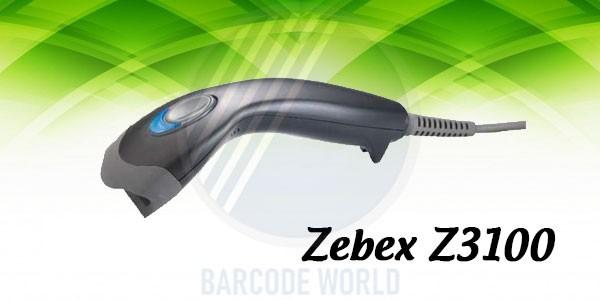 Đầu đọc barcode 1D có dây Zebex Z3100