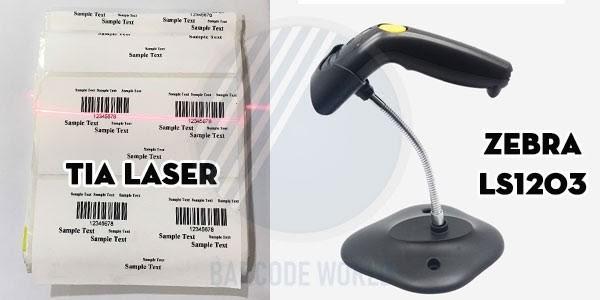 Máy quét mã vạch tia laser