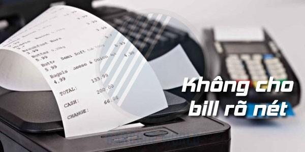 Tác hại của giấy in hóa đơn giá rẻ đến tuổi thọ máy in bill