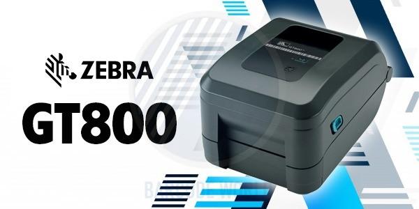 Máy in mã vạch truyền nhiệt Zebra GT800