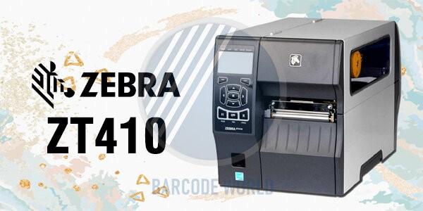 Máy in mã vạch Zebra ZT410 nhập khẩu chính hãng, chất lượng I Thế Giới Mã Vạch