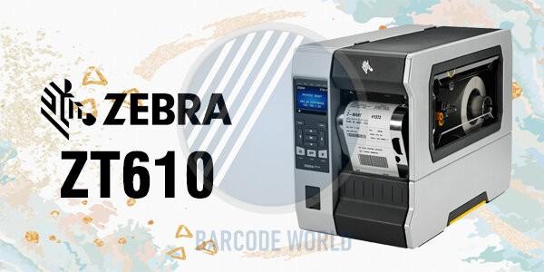 Máy in mã vạch Zebra ZT610 nhập khẩu chính hãng, chất lượng I Thế Giới Mã Vạch