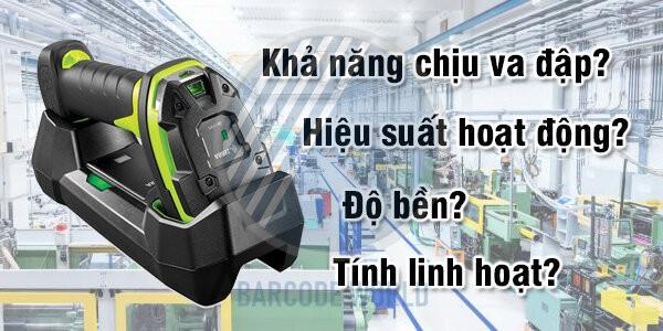 Máy quét mã vạch không dây, hiệu suất hoạt động cao I Giải pháp cho lĩnh vực công nghiệp