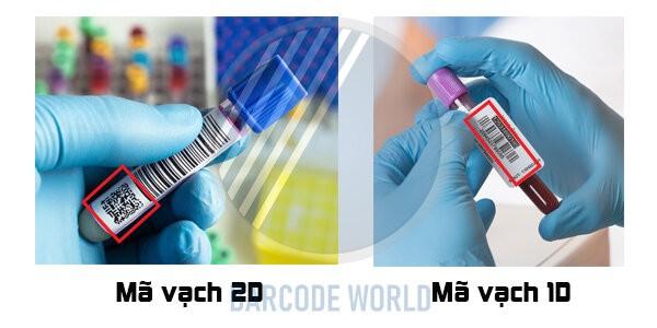 Đầu đọc barcode 1D và 2D trong bệnh viện I Thế Giới Mã Vạch