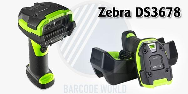 Tổng quan thiết kế bên ngoài của Zebra DS3678
