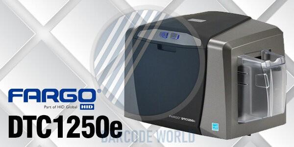 Máy in thẻ nhựa Fargo DTC1250e thiết kế hiện đại, bền chắc