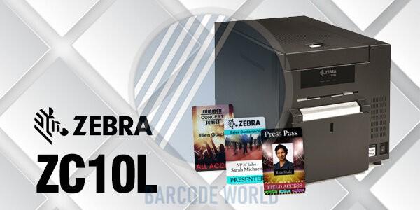 Máy in thẻ nhựa khổ lớn Zebra ZC10L nhập chính hãng