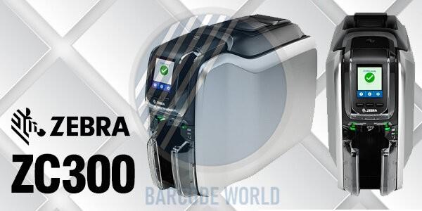 Máy in thẻ nhựa Zebra ZC300 cải tiến