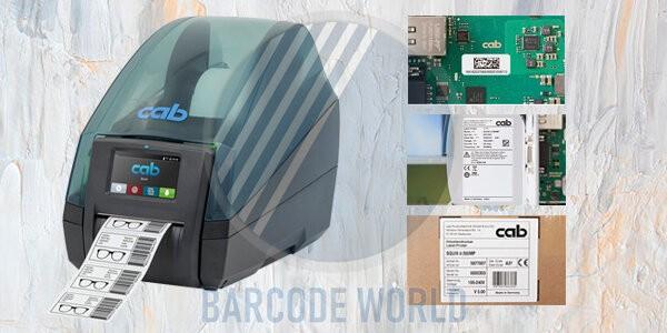 Máy in tem nhãn công nghiệp Cab Mach 4S 600 dpi với một loạt các đặc điểm nổi bật