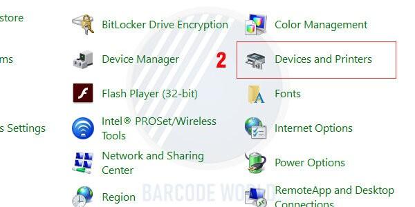 Hướng dẫn khắc phục máy in mã vạch bị lệch do file in không tương thích (2)