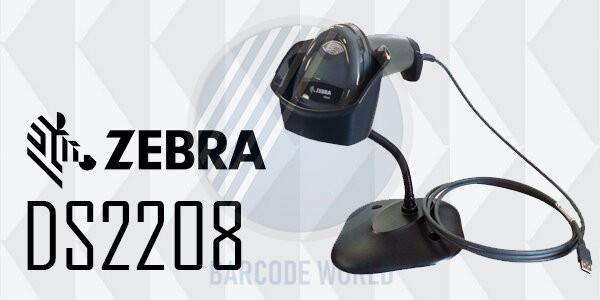 Máy đọc mã vạch có dây Zebra DS2208 - Chinh phục mọi mã vạch 1D lẫn 2D