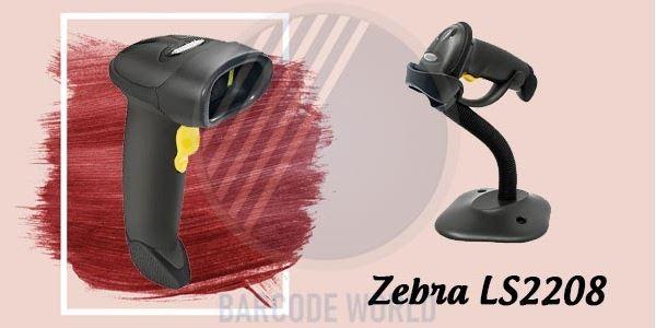 Máy đọc mã vạch Zebra LS2208 chính hãng, bảo hành lên đến 24 tháng