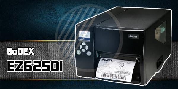Máy in tem nhãn công nghiệp GoDEx EZ6250i với độ rộng in nổi bật
