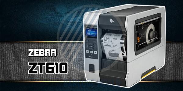 Máy in tem nhãn công nghiệp Zebra ZT610 với khả năng vận hành mạnh mẽ 24/7